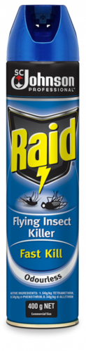 Raid Fly Spray Fast Kill 400g