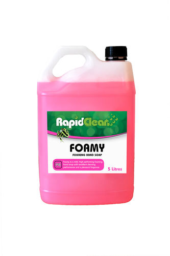 RapidClean Foamy Liquid Foaming Hand Soap 5 Litre