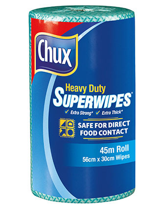 Chux Superwipes HD Roll 45m Green