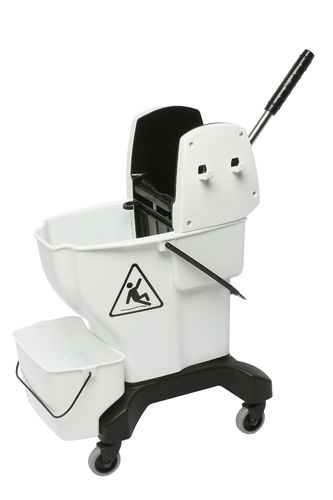 Edco Enduro Press Wringer Bucket 25L White