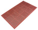 Safety Cushion Anti-Fatigue Grease Proof Mat 900 x 1500mm Brown