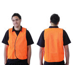 ProChoice Safety Vest Day Use Orange Large