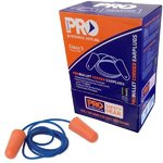 Pro-Bullet Ear Plugs Corded Class 5 Disposable pkt 100