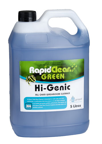 RapidClean Hi-Genic Washroom Cleaner 5L