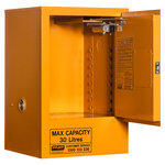 Pratt Flammable Cabinet 30 Litre 1 Door 1 Shelf