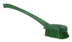 Vikan Churn Brush Long Handled 415mm Stiff Green