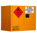 Pratt Flammable Cabinet 100 Litre 2 Door 1 Shelf
