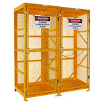 Pratt Forklift & Gas Cylinder Cage 3 Storage Levels Up To 8 Forklift
