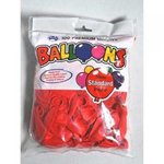 Red Balloons 30cm Pkt 100